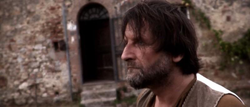 Una scena del film italiano Tre lire - Primo giorno
