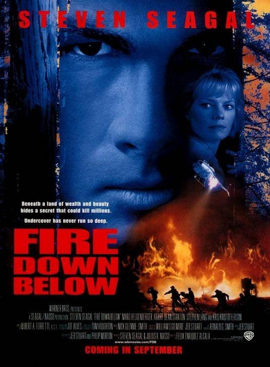 La locandina di Fire Down Below - L'inferno sepolto