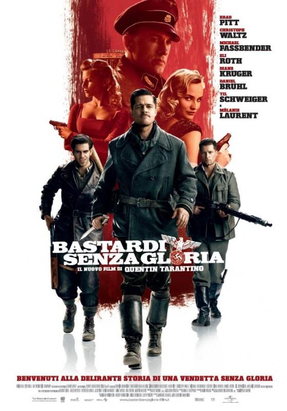 Locandina italiana di Bastardi senza gloria