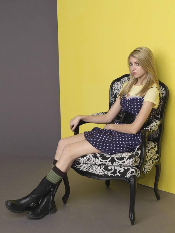 Taylor Momsen in un'immagine promozionale per Gossip Girl