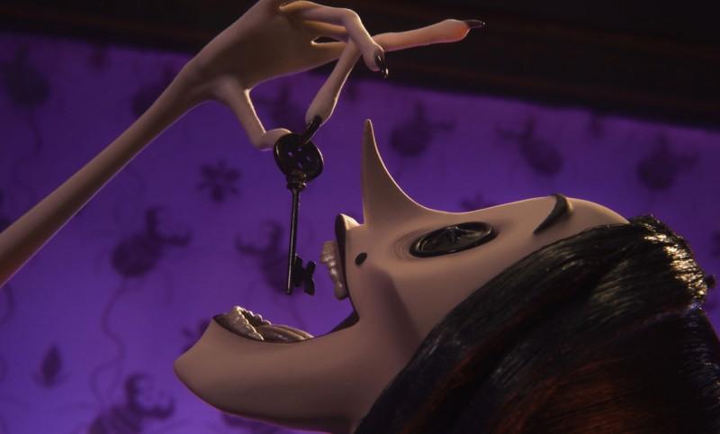 Un'immagine tratta dal film Coraline e la porta magica