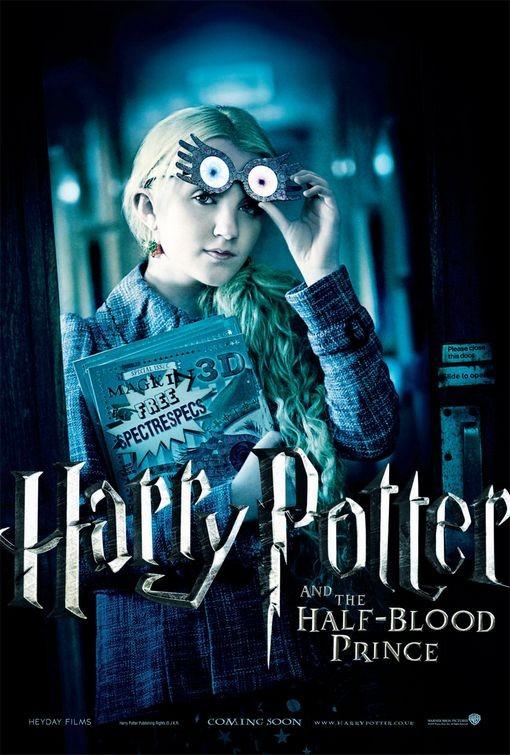 Character Poster per Harry Potter e il principe mezzosangue - Luna Lovegood
