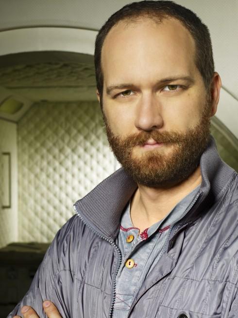 Erik Jensen in una foto promozionale del film tv Virtuality