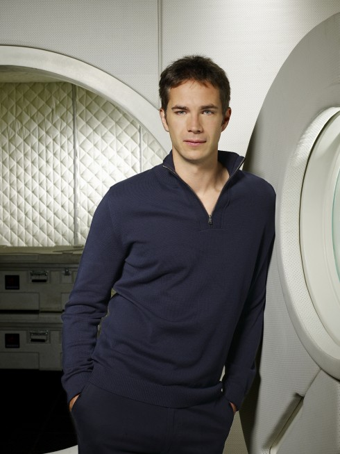 James D'Arcy in una foto promozionale del film tv Virtuality
