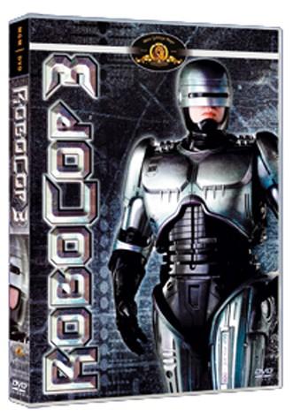 La copertina di RoboCop 3 (dvd)