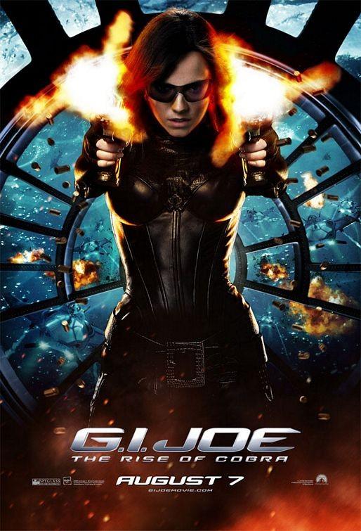 Nuovo Character Poster per il film G. I. Joe: Baroness
