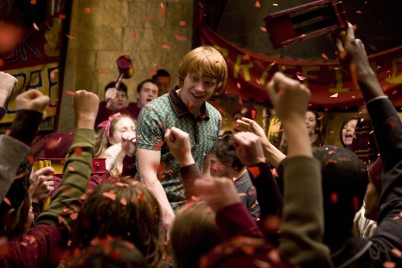 Rupert Grint in un'immagine del film Harry Potter e il principe mezzosangue