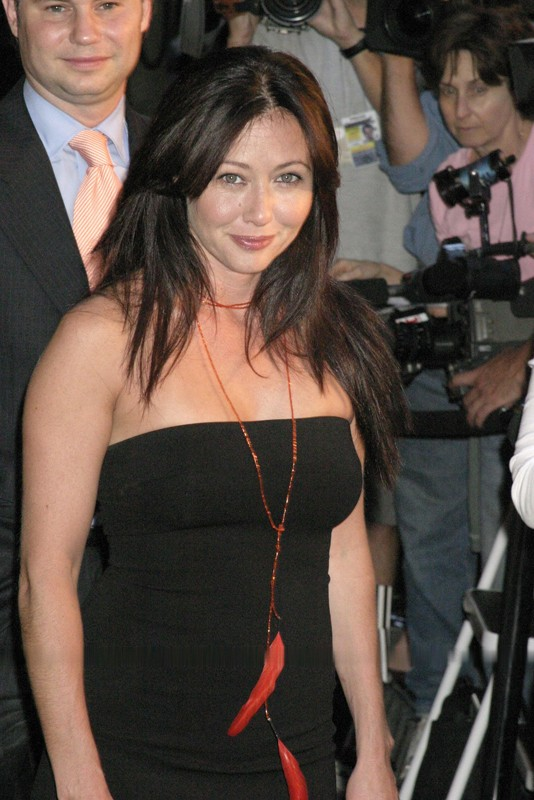 Shannen Doherty al 'Warner Bros Consumer Products Purr-fect', nel 2004