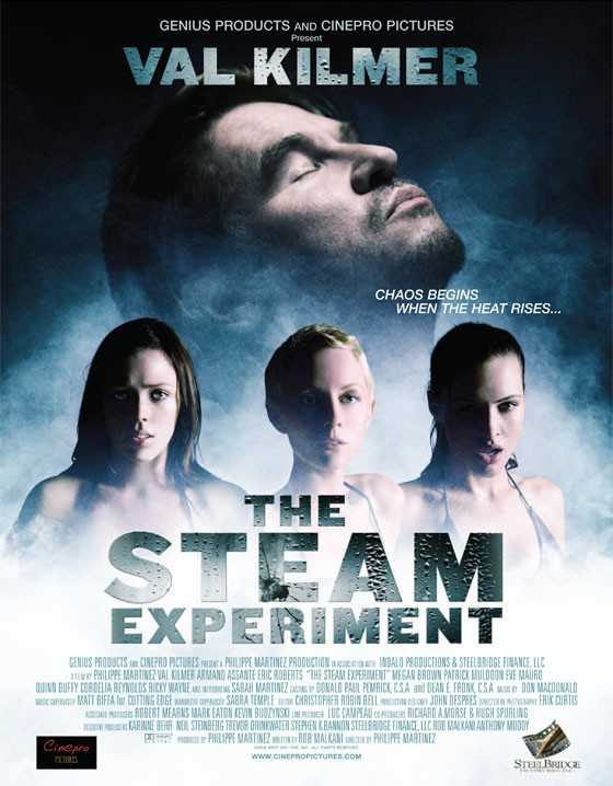 La locandina di The Steam Experiment