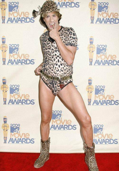 Sacha Baron Cohen nei panni di Brüno ai MTV Movie Awards 2009