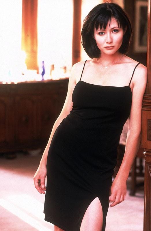 Una foto di Shannen Doherty per la prima stagione di Charmed