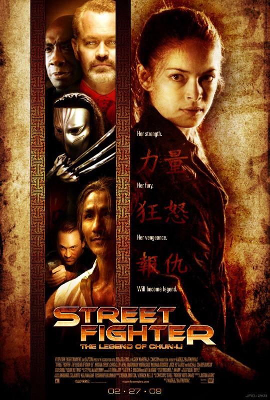 Una seconda locandina di Street Fighter: The Legend of Chun-Li