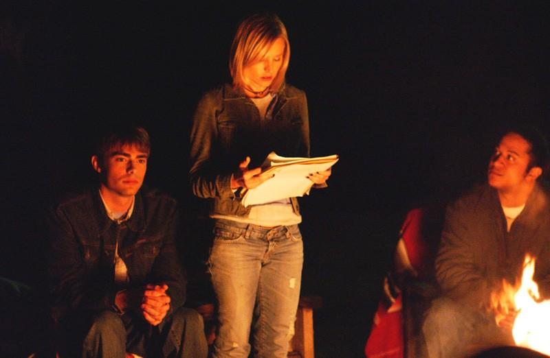 Kristen Bell e Jonathan Bennett nell'episodio 'Abbaglio' di 'Veronica Mars'