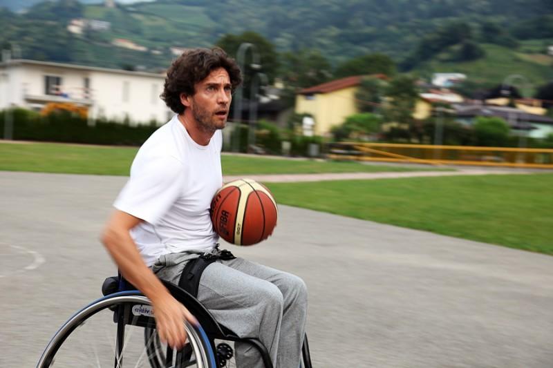 Alessio Boni in una scena del film Sinestesia, scritto e diretto da Erik Bernasconi