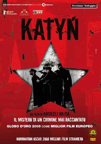La copertina di Katyn (dvd)