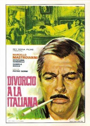 La locandina di Divorzio all'italiana