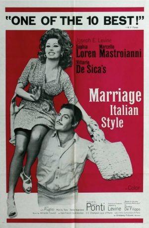 La locandina di Matrimonio all'italiana