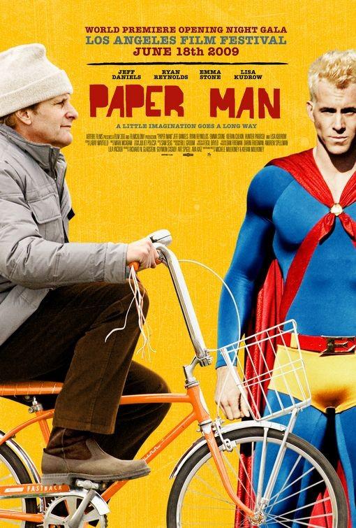 La locandina di Paper Man