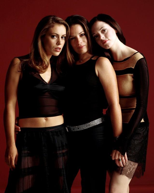 Le sorelle Halliwell della 4 stagione del telefilm Streghe