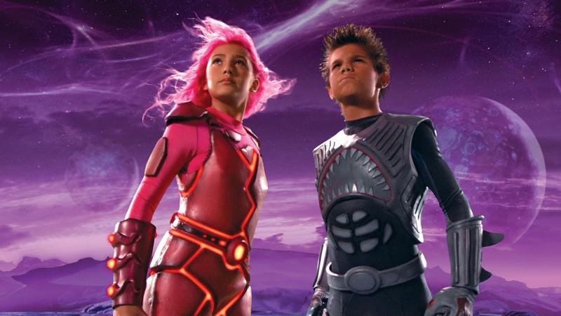 Taylor Dooley e Taylor Lautner in The Adventures of Shark Boy & Lava Girl in 3-D