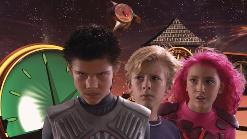 Taylor Lautner, Cayden Boyd eTaylor Dooley in The Adventures of Shark Boy & Lava Girl in 3-D