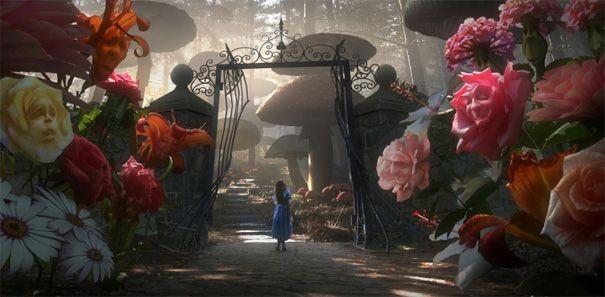 Una sequenza di Alice in Wonderland, adattamento della fiaba di Lewis Carroll firmato da Tim Burton