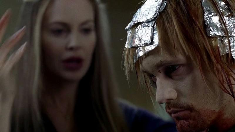 Alexander Skarsgård in un'immagine dell'episodio 'Keep This Party Going' della seconda stagione di True Blood