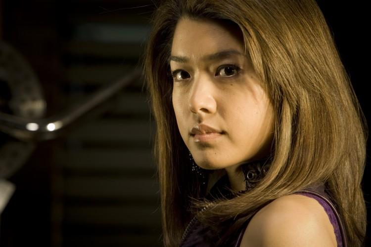 Grace Park in una foto promozionale della seconda stagione di The Cleaner
