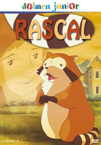 La copertina di Rascal - vol. 8 (dvd)