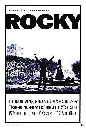 La locandina di Rocky