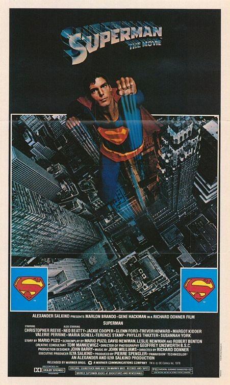 La locandina di Superman