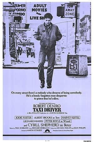 La locandina di Taxi Driver