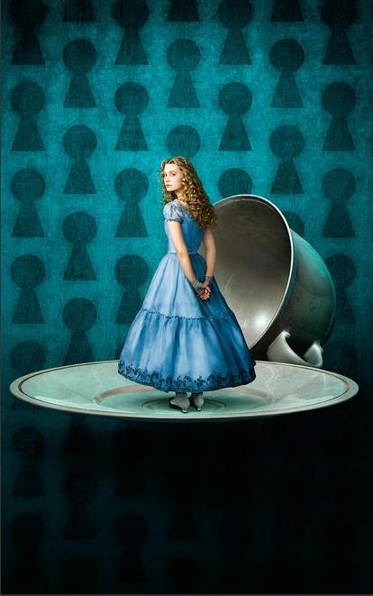 Mia Wasikowska è Alice nel paese delle meraviglie per Tim Burton