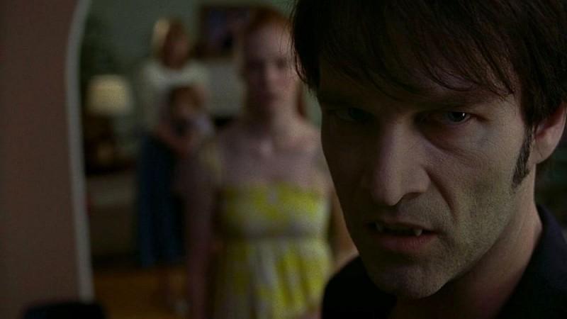 Stephen Moyer in un'immagine dell'episodio 'Keep This Party Going' della seconda stagione della serie True Blood