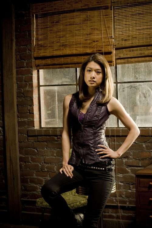 Una foto promozionale di Grace Park per la stagione 2 di The Cleaner