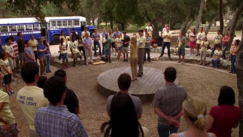 Una scena dell'episodio 'Keep This Party Going' della seconda stagione di True Blood
