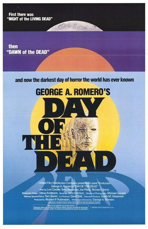 La locandina di Il giorno degli zombi