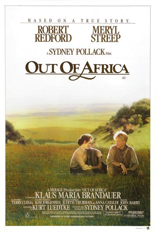 La locandina di La mia Africa