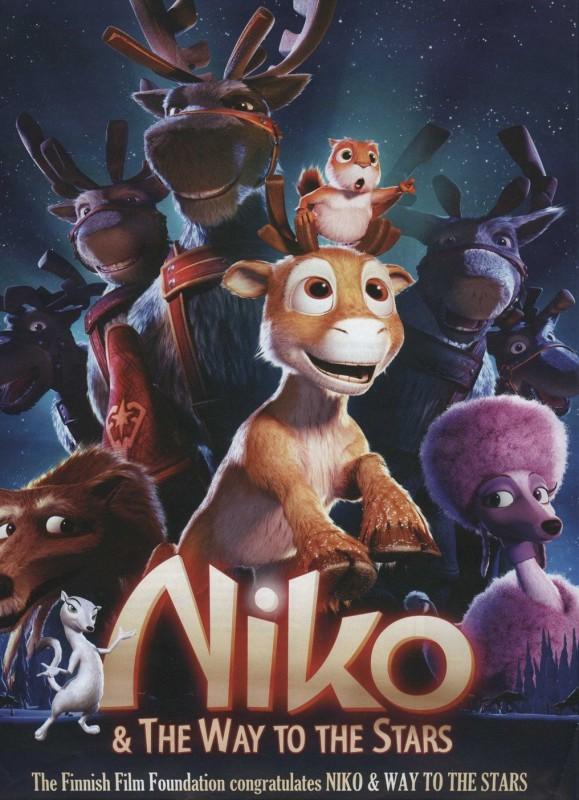 La locandina di Niko & The Way to the Stars