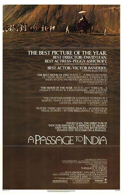 La locandina di Passaggio in India