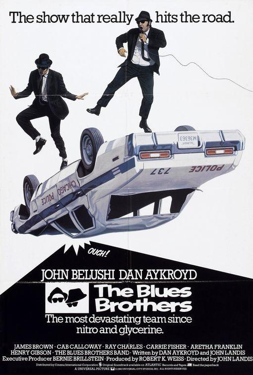 La locandina di The Blues Brothers
