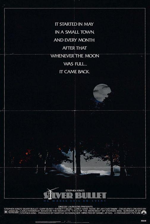 La locandina di Unico indizio la luna piena