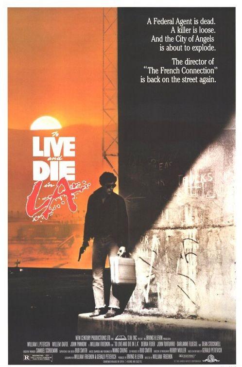 La locandina di Vivere e morire a Los Angeles