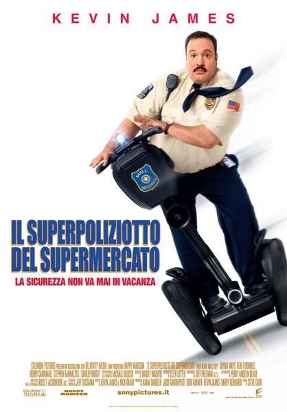 La locandina italiana di Il superpoliziotto del supermercato