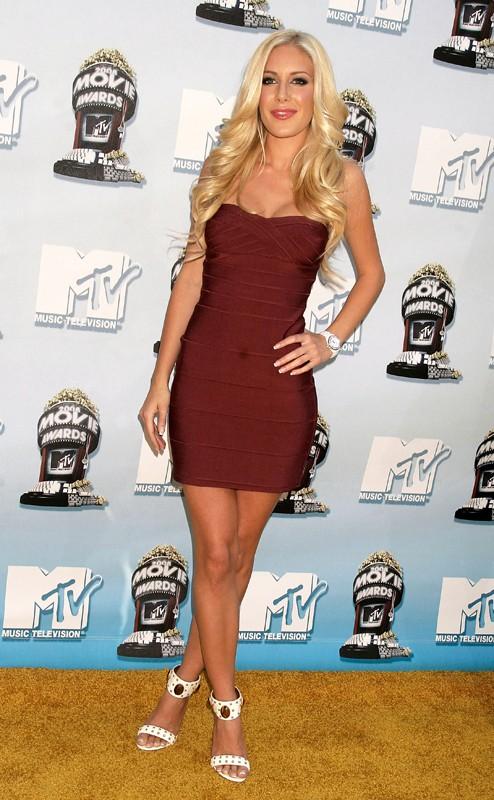 Heidi Montag agli MTV Movie Award 2008