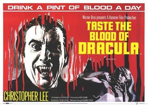 Lobbycard promozionale del film Una messa per Dracula
