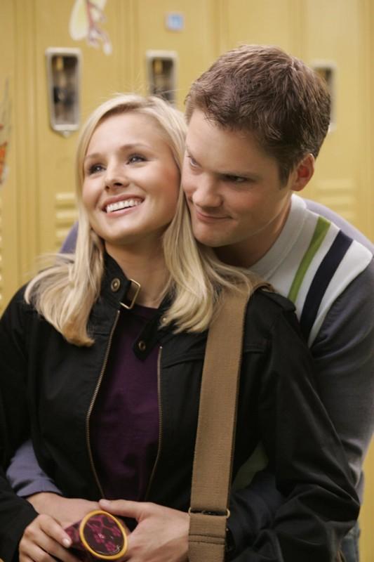 Kristen Bell e Teddy Dunn di nuovo insieme in una scena della puntata 'Il mostro dagli occhi verdi' di Veronica Mars