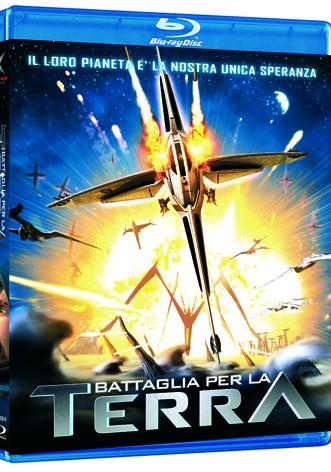 La copertina di Battaglia per la Terra 3D (blu-ray)