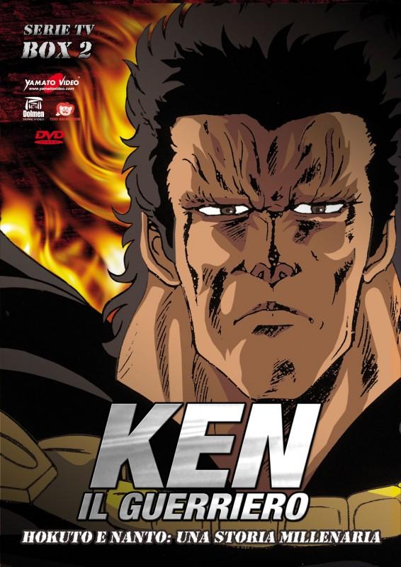 La copertina di Ken il guerriero - Serie TV - Box 2: Hokuto e Nanto: una storia millenaria (dvd)