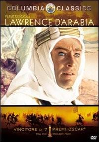 La copertina di Lawrence d'Arabia - Versione restaurata (dvd)